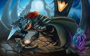 Картинка wow, разбойник, world of warcraft, рог, rogue, Тролль, Troll, Орда, Horde