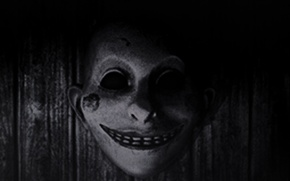 Картинка улыбка, маска, ужас, the evil within