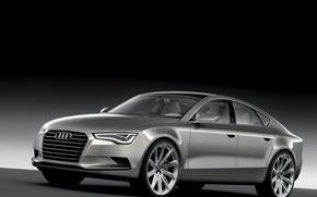 Обои Audi, металлик, 20дюймовые диски