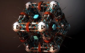 Обои Nano Surgeon, куб