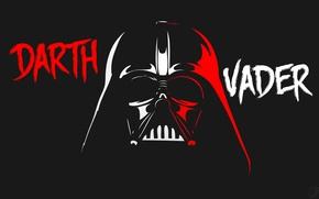 Картинка Минимализм, Star Wars, Darth Vader, Звёздные войны, Ситх, Дарт Вейдер, Sith, Anakin Skywalker, Dark side, …