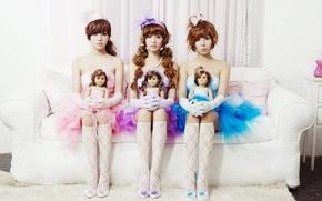Картинка музыка, девушки, азиатки, Южная Корея, Kpop, Orange Caramel