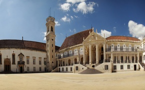 Картинка Португалия, Portugal, Coimbra, Коимбрский университет, Коимбра, University of Coimbra