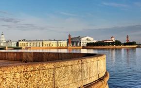 Картинка Санкт-Петербург, Стрелка Васильевского острова, ростральные колонны
