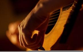 Обои музыка, фото, обои, гитара, струны, музыкант, изображение, картинка. фон