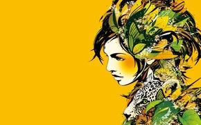 Картинка девушка, обложка, kaleidoscope, nujabes
