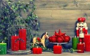Картинка украшения, Новый Год, Рождество, подарки, Christmas, vintage, New Year, decoration, Happy, Merry