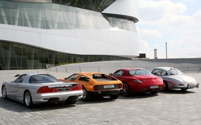 Картинка Mercedes-Benz C112, Mercedes-Benz C111, Mercedes-Benz SLS AMG, Mercedes-Benz 300 SL Gullwing