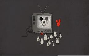Обои fans, Mickey Mouse, Idol, mice