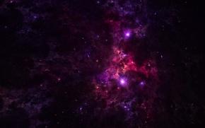Обои звёзды, nebula, космос, туманность, бездна