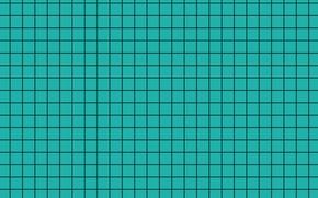 Картинка фон, голубой, черный, текстура, квадраты