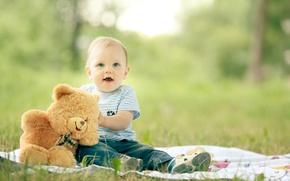 Картинка лето, дети, игрушка, ребенок