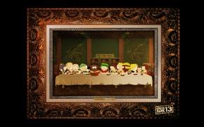 Картинка Картина, South Park, Тайная вечеря
