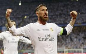 Картинка футбол, победа, футболист, real madrid, реал мадрид, football, champions league, Реал Мадрид, Real Madrid, Лига …