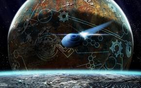 Картинка space, deep, planets
