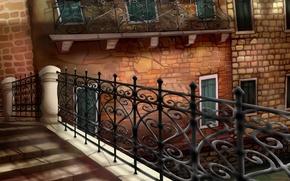 Картинка Venezia, картина, Venice, Италия, art, Italia, рисунок, Венеция, Italy