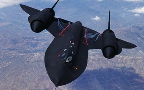 Картинка разведчик, SR-71, стратегический, сверхзвуковой