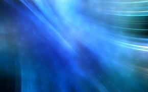 Обои Синяя, Точки, Линия