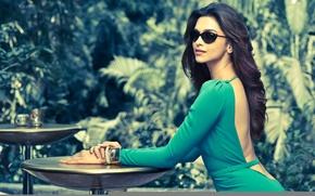 Картинка Girl, Green, India