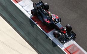 Картинка McLaren, Formula 1, Вид сверху, Jenson Button