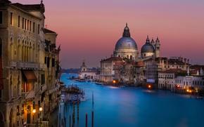 Картинка Италия, канал, Venice