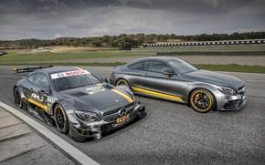 Картинка купе, Mercedes-Benz, мерседес, AMG, Coupe, амг, C-Class, C205