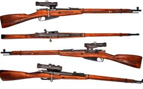 Картинка оружие, фон, винтовка, снайперская, Мосина, M91/30, магазинная