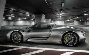 Картинка Porsche, Spyder, 918, 2015