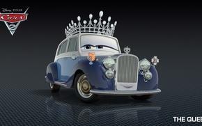 Картинка мультфильм, тачки, pixar, королева, disney