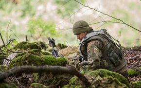 Картинка оружие, солдат, German Army