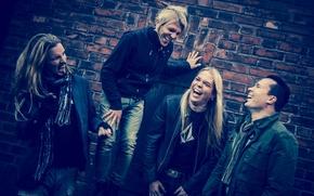 Картинка Пертту Кивилааксо, Эйкка Топпинен, Пааво Лётьёнен, Микко Сирен, Apocalyptica, альтернативный метал, Symphonic Metal, прогрессивный метал, …