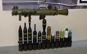Картинка gun, weapon, army, rifle, ammunition, show, cannon, Swedish, olive, exhibition, Swedish armed forces, recoilless rifle, …