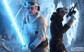 Картинка игры, Electronic Arts, Luke Skywalker, DICE, Han Solo, star wars battlefront, Hoth
