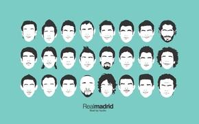 Картинка лица, состав, Real Madrid