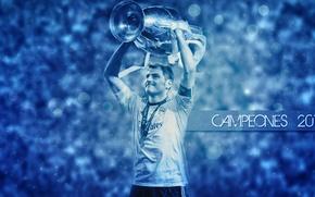 Картинка Iker Casillas, Real Madrid CF, UEFA Champions League Trophy