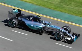 Картинка formula 1, hybrid, Mercedes AMG, Nico Rosberg, 2015, W06