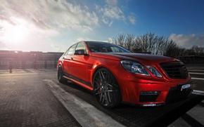 Картинка Mercedes-Benz, мерседес, AMG, амг, бенц, E 63, 2015, W212, Fostla