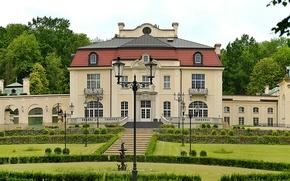 Картинка природа, здание, Польша, архитектура, nature, Poland, architecture, Family palace