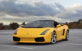 Картинка 2008, Lamborghini, Gallardo, Spyder