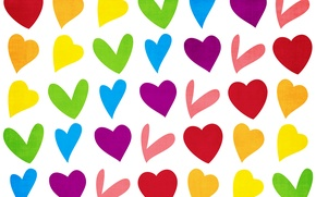 Обои сердечко, вектор, праздник, влюбленные, сердце