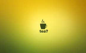 Картинка чай, минимализм, minimal walls, tea