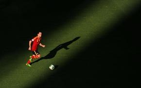 Картинка Европы, Испания, Barcelona, Spain, Футболист, Xavi, Легенда, Чави, Чемпион Мира