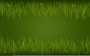 Картинка трава, зеленый, green, светлый, текстура