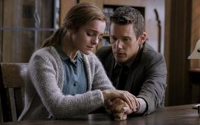 Обои Возвращение, Эмма Уотсон, триллер, Ethan Hawke, Итан Хоук, Emma Watson, Regression