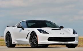 Картинка Corvette, Chevrolet, Stingray, by Hennessey, HPE500