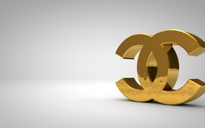 Картинка стиль, golden, logo, бренд, chanel
