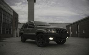 Картинка car, машина, авто, Grand, Jeep, Cherokee, lightroom, Laredo