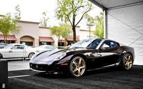 Картинка Ferrari, суперкар, феррари, 599, Aperta