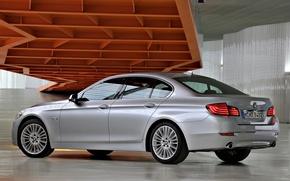 Картинка авто, обои, BMW, автомобиль, седан, Sedan, 535i, Luxury Line