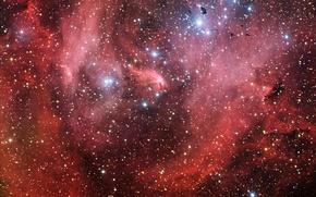 Картинка туманность, Центавра, Лямбда, IC 2944